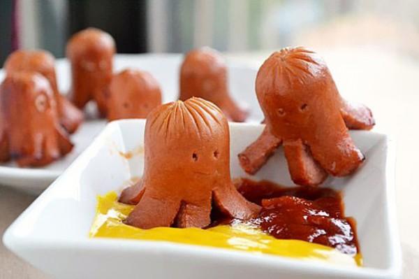 Criatividade na cozinha: comidinhas simples viram lanches divertidos :)