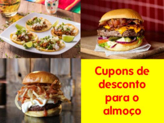 Cupons de desconto para o almoço: Confira todas as promoções na Cuponeria