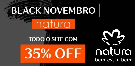 As melhores promoções no Novembro Black Natura.