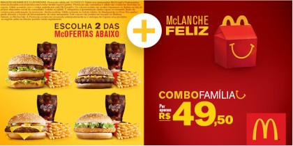 Cupons de desconto McDonald's na Cuponeria! =D