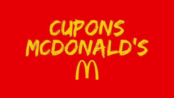 Cupons McDonald's ???