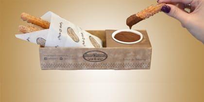 4 Churros Espanhóis + Calda de Chocolate por apenas R$ 9,50