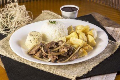 Prato Especial Carne de Sol + Refrigerante por apenas R$ 25!