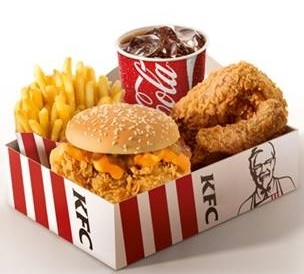 Big Box KFC Cheddar Melt por R$ 19,90