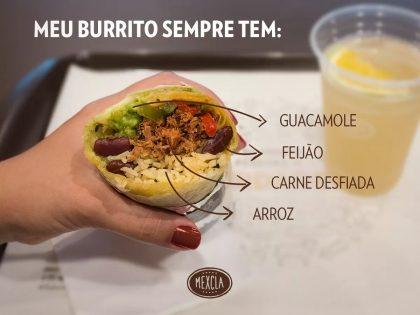 Combo: Burrito + Refrigerante por apenas R$20,72! (Center 3)