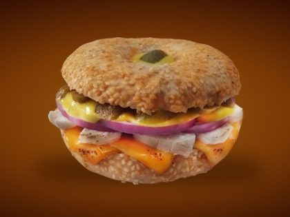 BAGEL CHICKEN PHILLY por apenas R$ 15,60