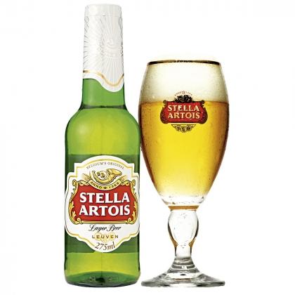 Cerveja Stella Artois super gelada no Arabin por R$ 6,90 [18+]