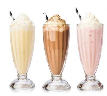 O incrível Milkshake do RAP Burguer (4 opções de sabores) por R$ 13,60