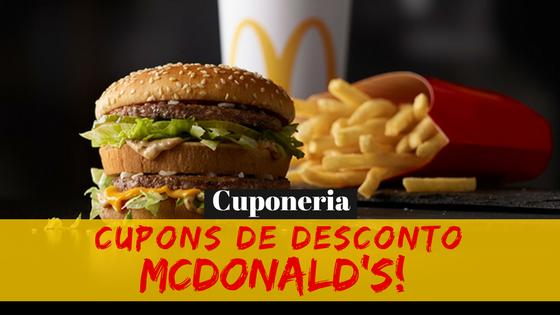 Dica da Semana: Como Usar Cupons de Desconto no McDonald's