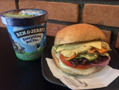 Combo R$30: Burger Vegetariano + Chá Gelado Lipton + Batata McCain