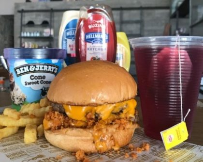 Combo R$40: Burger Veggie com Bonduelle + Batata McCain + Chá Gelado Lipton + Sorvete Ben & Jerry's