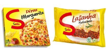Lasanhas e Pizzas SADIA com 30% de desconto