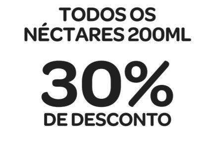 Todos os Sucos Néctar 200ml com 30% de desconto