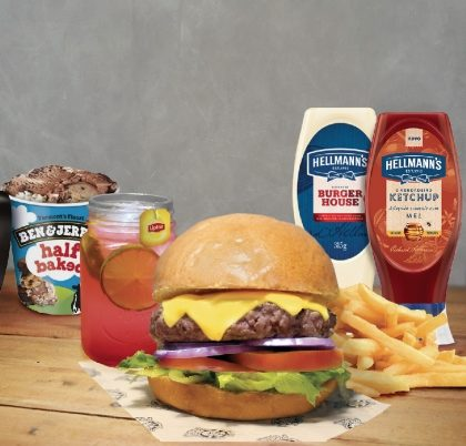 Combo R$40: Todos os lanches + Chá Gelado Lipton + Batata McCain + Sorvete Ben & Jerry's