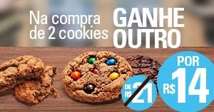 Compre 02 Cookies e ganhe outro ♥