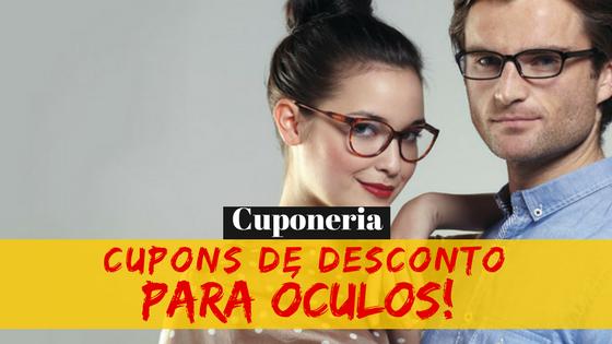 Óculos com Cupom de Desconto!