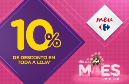 (11/5) EXPRESS: 10% de desconto em TODA A LOJA* nas compras acima de R$50