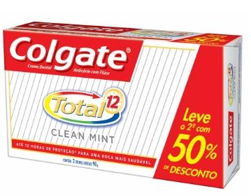 KIT COLGATE TOTAL 12 por apenas R$5,99!