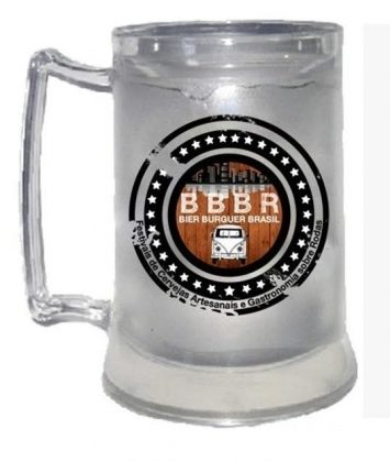 Caneca Oficial Bier Burguer Brasil!