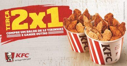 Terça 2×1: Compre um Balde de 12 Tirinhas e GANHE OUTRO!