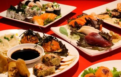 Segunda a sexta: Rodízio Japonês completo com sobremesa por apenas R$ 56,90