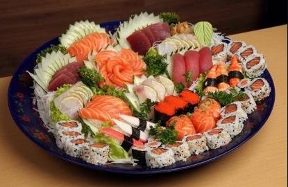 Almoço: Rodízio Japonês + Bebida Refil + Petit Gateau por R$ 64,90