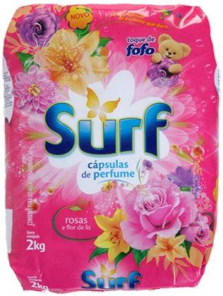 Lava Roupas em Pó SURF 2kg por apenas R$9,49