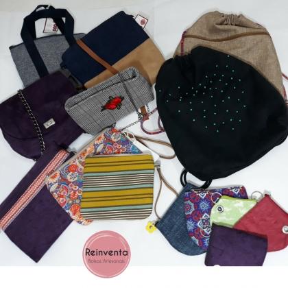 Bazar VilaMundo: Reinventa Bolsas: 10% OFF na compra de 2 peças ou mais!