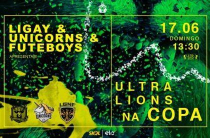 5 pares de VIPs: LiGay, Unicorns e Futeboys apresentam Ultralions na Copa!