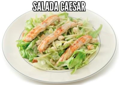 Salada Caesar com Frango Grelhado por R$ 18,90 (Eldorado)