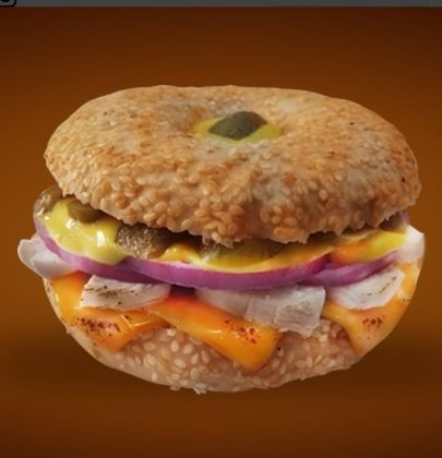 Bagel Chicken Philly + Refrigerante por apenas R$ 15,99