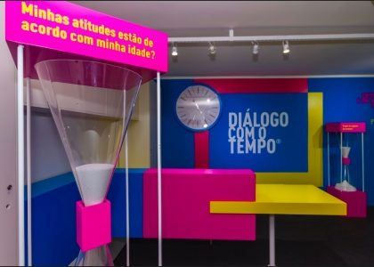 50% OFF apresentando o cupom: Exposição DIÁLOGO COM O TEMPO!