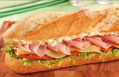 20% de desconto em Sanduíches de Presunto ou Carne Seca