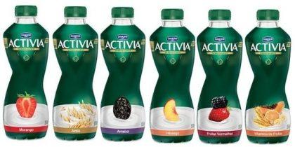 Iogurtes Activia com 50% de desconto na 2ª unidade
