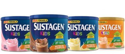 Sustagen Kids Lata Regular 380g (qualquer sabor) com 30% de desconto