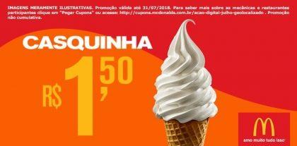 Casquinha R$ 1,50