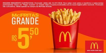 McFritas Grande R$5,50