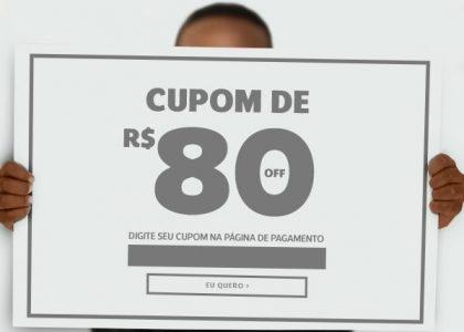 Cupom de R$80 OFF em produtos selecionados na Netshoes!
