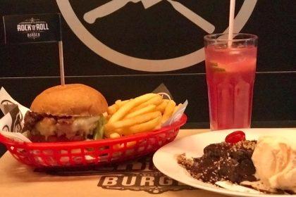 Qualquer Burguer do cardápio + 1/2 Fritas + Refil de Lemonade + Brownie com Sorvete por R$49,90!