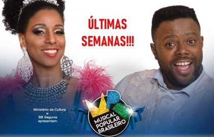 50% OFF: Espetáculo: MPB – MUSICAL POPULAR BRASILEIRO