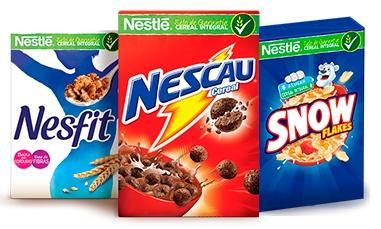 Cereais Nestlé com 30% de desconto!