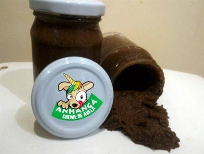 (Anhangá Vegan Food) 15% de desconto na Nutella de Avelã com Chocolate Belga e Pinhão!