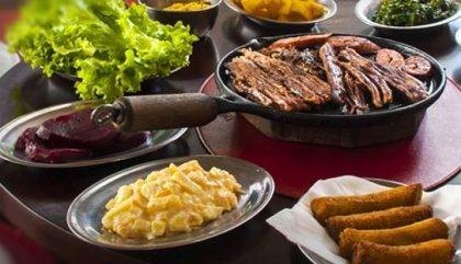 Rodízio de Carnes Completo com 10% de desconto no jantar