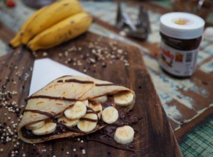Brazuka's Food: Ganhe 1 crepe doce em compras acima de R$50!