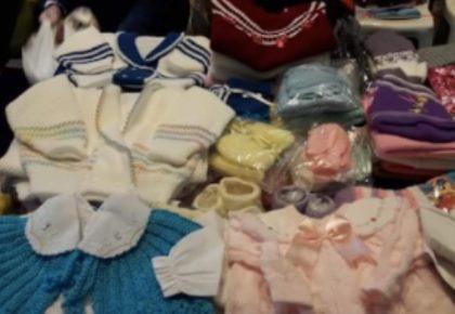 Dona Ge: Ganhe um colar de crochê na compra de qualquer roupinha de bebê!