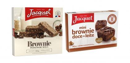 Bolos e Brownies JACQUET com 30% de desconto!