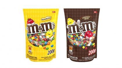 Chocolate M&M's 200g com 20% de desconto!