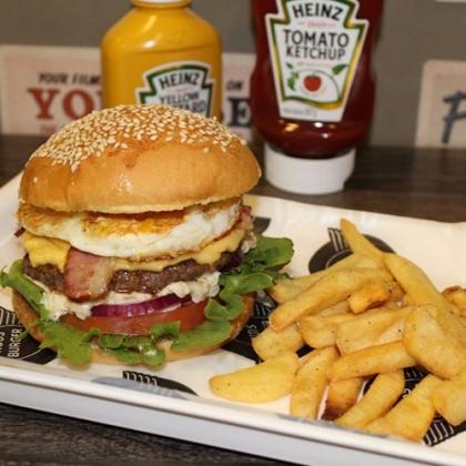 Na compra de um Egg Burger, GANHE outro lanche igual