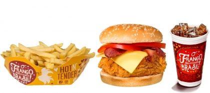 Hot Bacon com Batata Frita + Refri 300ml por apenas R$ 15,90