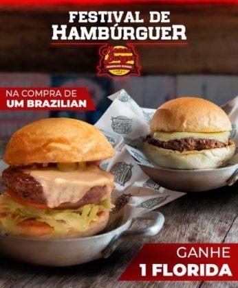 GANHE 1 Burger Florida na compra de 1 Burger Brazilian